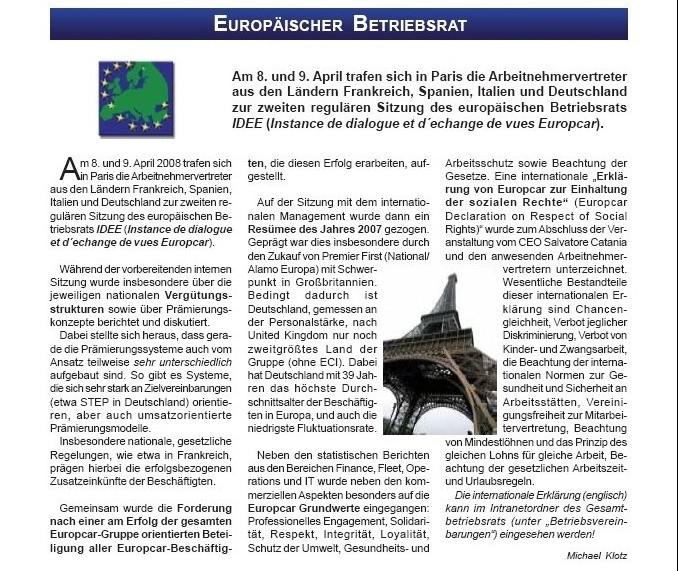 Euro Betriebsrat
